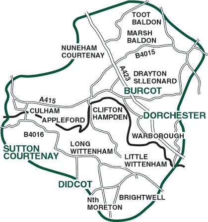 Practice Area Map