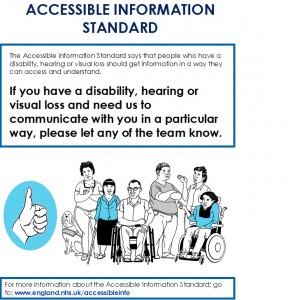 ACCESSIBLE INFORMATION STANDARD POSTER