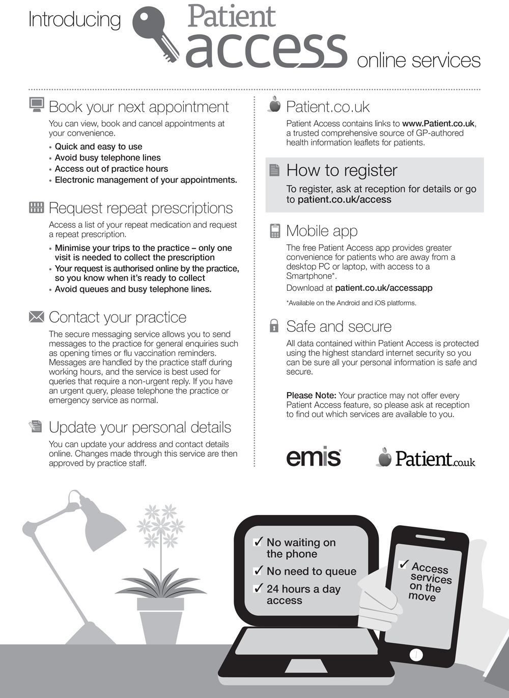 Patient-Access-A4-Leaflet