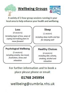Wellbeing Groups